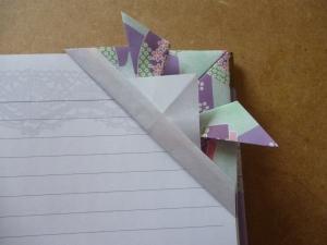 Samurai hat bookmark