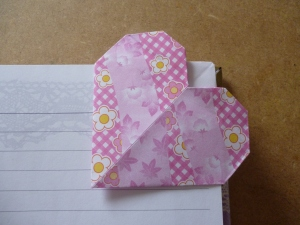 Another heart coner bookmark