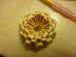 Make a base of 10 triangles, glue is optional